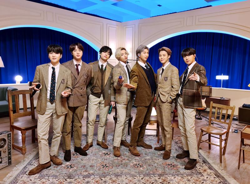 Bts Berpartisipasi Dalam Event Grammy Music On A Mission