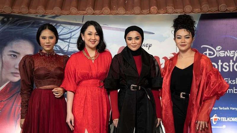 Empat Musisi Wanita Indonesia Nyanyikan Soundtrack Film Mulan