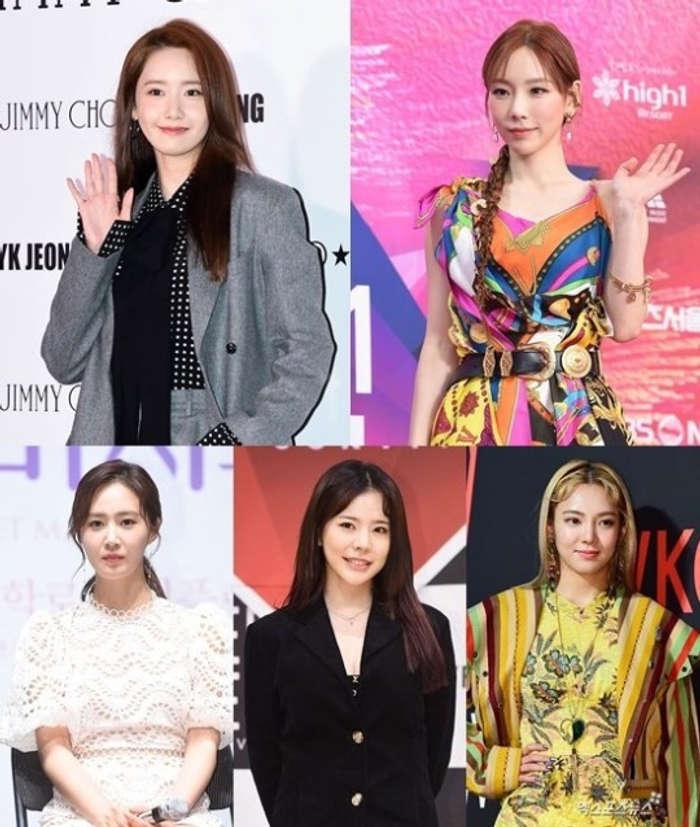 Anggota Girl's Generation yang masih terikat dengan SM Entertainment.
