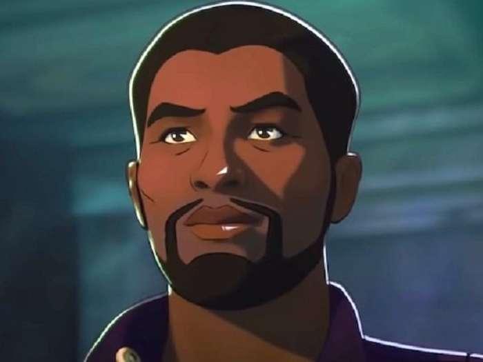 Chadwick Boseman dalam serial What If...?