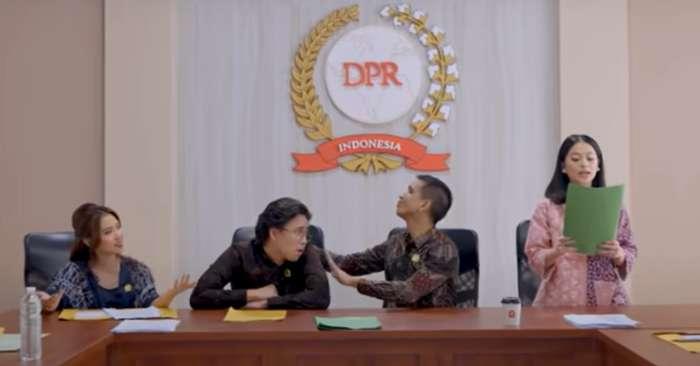DPR Musikal (SkinnyIndonesian24)