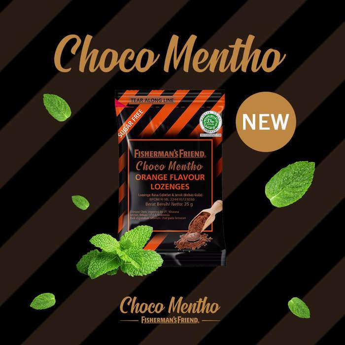 Fisherman's Friend Choco Mentho Orange Flavour