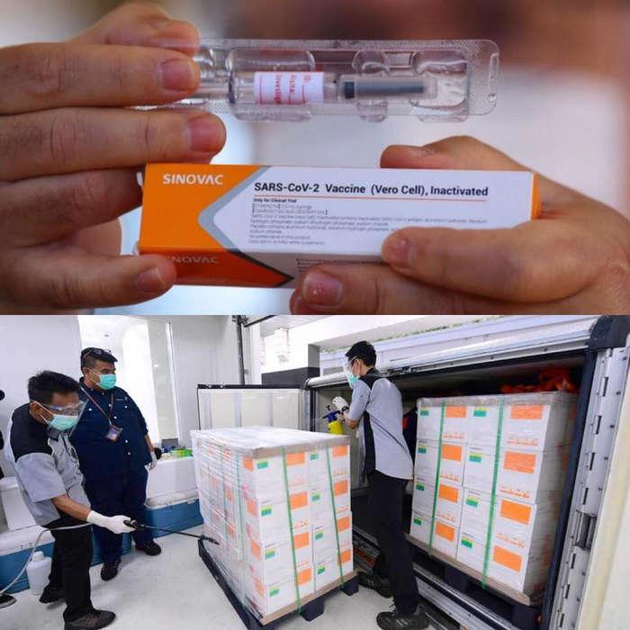 Vaksin untuk COVID-19, Sinovac, sudah tiba di Indonesia