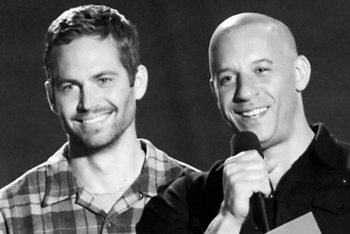 Paul Walker dan Vin Diesel