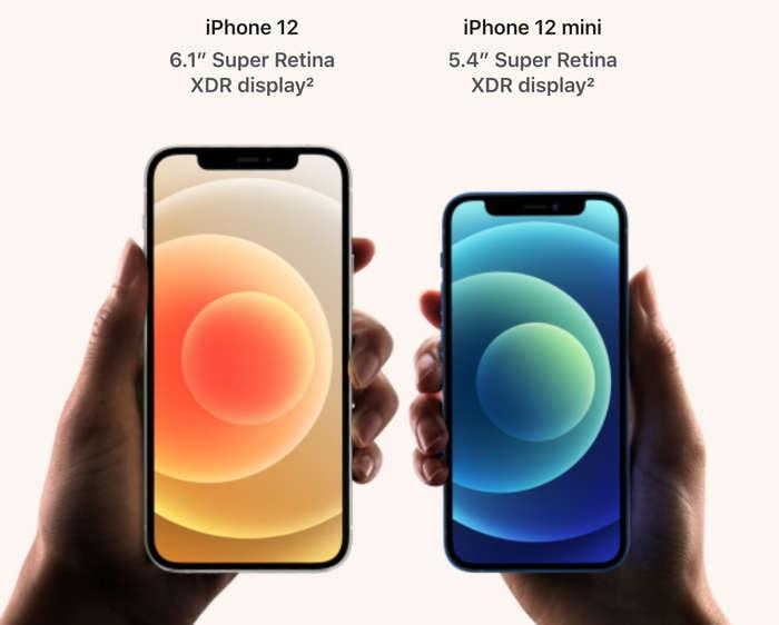 iPhone 12 & iPhone 12 Mini