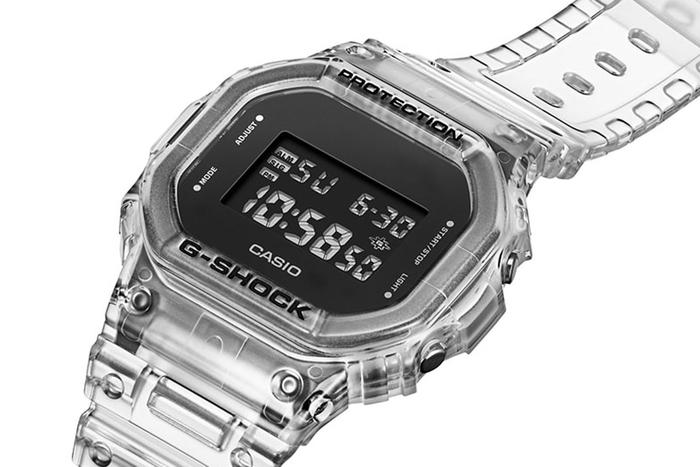 DW-5600 Transparan (Casio)